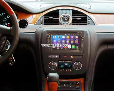 Buick Enclave Android 4.4 Car DVD GPS Player Radio multimedia WIFI 3G 4G
