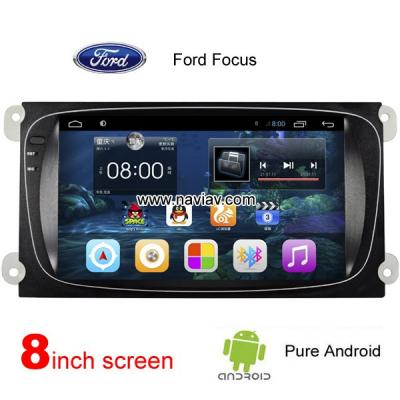 Ford Focus car pc radio pure android wifi gps navigation Multi-touch screen