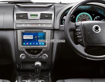 SsangYong Rexton Android 4.4 Car Radio WIFI 3G 4G DVD GPS Player multimedia