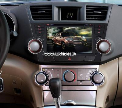 Toyota Highlander Kluger Android 4.4 Car Radio WIFI 3G 4G DVD GPS multimedia