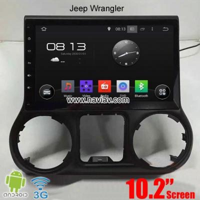 Jeep Wrangler car pc radio pure android wifi 3G gps navi 10.2inch multimedia