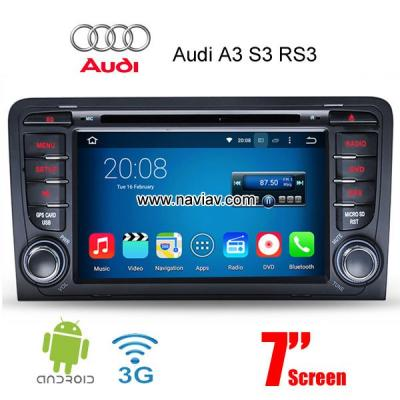 Audi A3 S3 RS3 2003-2010 Android Car Radio WIFI 3G DVD multimedia GPS