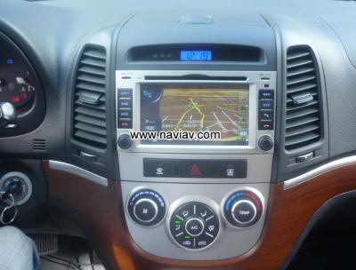 Hyundai Santa FE Android 5.1 Car Radio WIFI 3G 4G DVD GPS Player multimedia NAV-H7119A