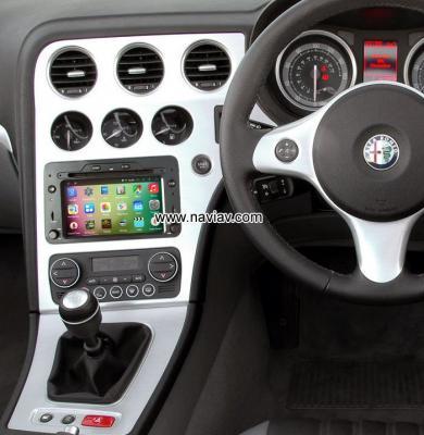 Alfa Romeo Spider Android Car Radio WIFI 3G DVD Player multimedia GPS navigation