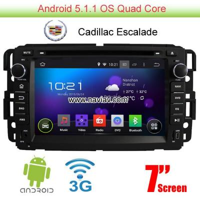 Cadillac Escalade Android 5.1 Car Radio WIFI 3G DVD player GPS multimedia
