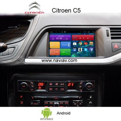 Citroen C5 Android 3G Wifi OBD TPMS car radio PC gps navigation mirror link