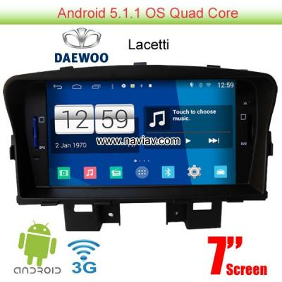 Daewoo Lacetti  Android 5.1 Car Radio WIFI 3G DVD player GPS multimedia