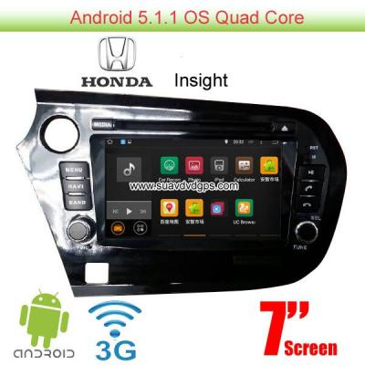 Honda Insight Android 5.1 Car Radio WIFI 3G DVD player GPS Apple CarPlay