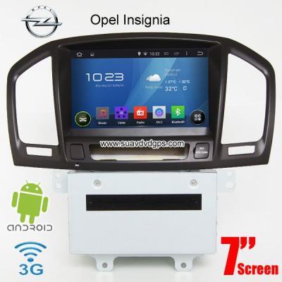 Opel Insignia Android Car Radio WIFI 3G  DVD GPS Apple CarPlay DAB+