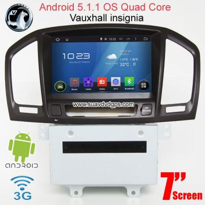 Vauxhall insignia Android Car Radio WIFI 3G DVD GPS Apple CarPlay DAB+