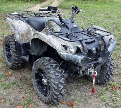Yamaha Grizzly 700 FI 2008 quad