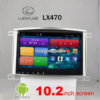 Lexus LX470 car radio android wifi gps navigation 3G Apple CarPlay DAB+