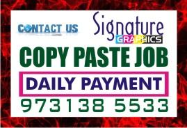 258 Online Job Tips Earning cash NO Registration fee Without Investment | Copy Paste Job | SG 973138