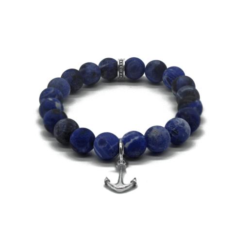 Aum silver bracelet