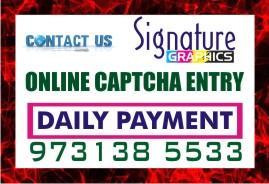 Home Based BPO Job Copy paste Job captcha entry daily payment