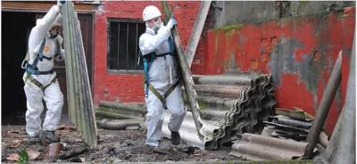 asbestos garage removal york