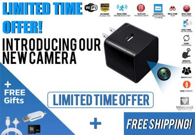 USB Spy Camera Wireless Hidden with Real Time Motion Detection and with Night Vision