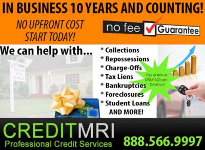 Performance Based Credit Repair