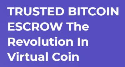 The Most Secured and Trusted Bitcoin Escrow Service for Buyers/Sellers Online
