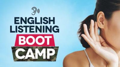 English lessons focusing on listening skills.