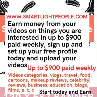 Start Earning money Now.