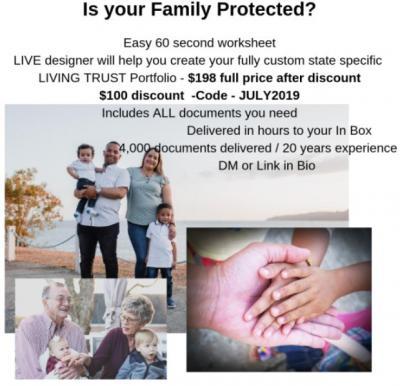 Living Trust- $198 total full price*