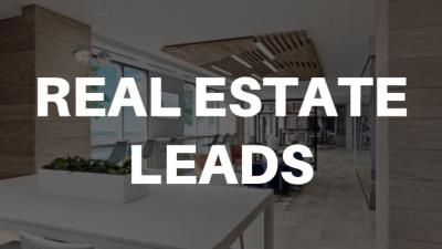 Real Estate Leads - High Quality