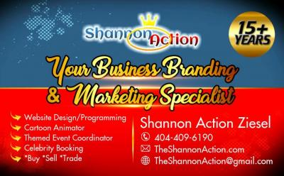 The Shannon Action | Business Branding & Marketing Specialist