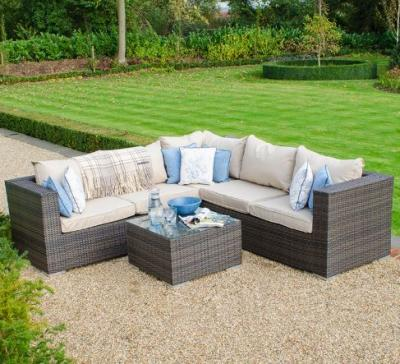 Bring a touch of elegance & comfort to your backyard with rattan furniture sofa sets