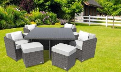 Decorate Your Garden Area with Designer Rattan Cube Sets