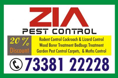 Zia Pest Control | Cockroach Service | 30% Discount Residents & Office 860