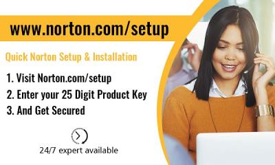 Norton.com/setup - Enter a product Key - Setup Norton