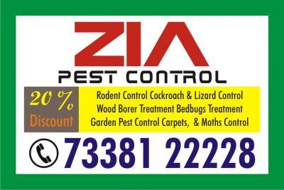 Zia Pest Control high-level Service 827 | Hormavu | Office | Apartments | Hospitals