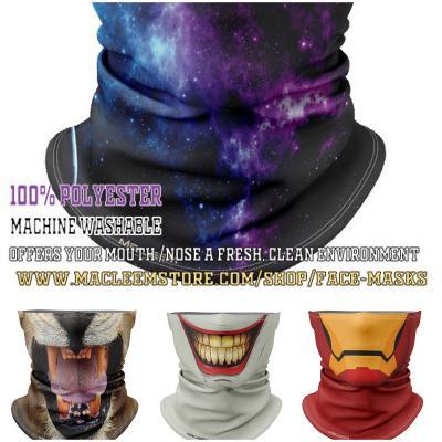 Macleem Custom Designer Masks