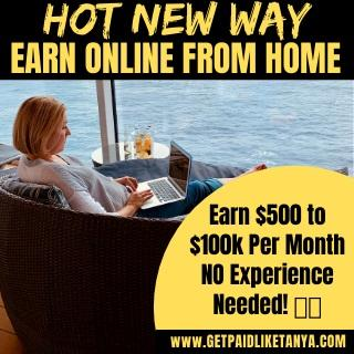 HOT NEW Way To Earn Online From Home