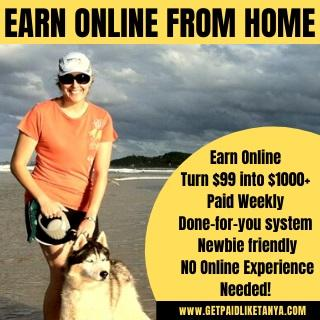 Earn Online From Home - HOT NEW Way