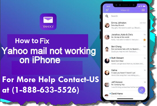 How to Fix Yahoo Mail not Working on iPhone ?