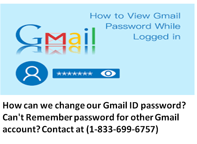 How Can we change our Gmail ID password?