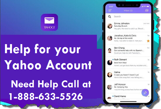 Help for your Yahoo Account During COVID-19 at 1-888-633-5526