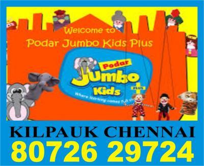 Podar Jumbo Kids Plus | 8072629724 | 1128 | Home based online class