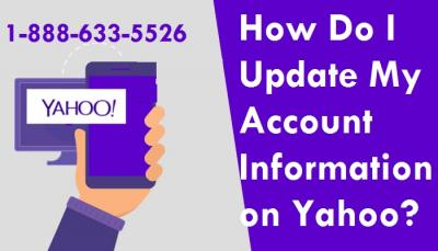How Do I Update My Account Information on Yahoo?