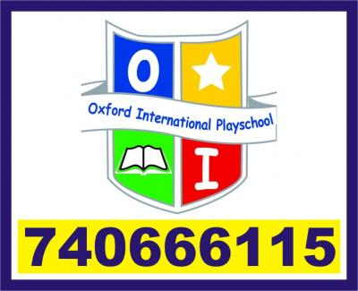 Oxford Play School | RT Nagar | Junior Kg | Senior | 7406661115 | 1239 |