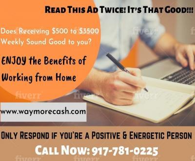$1500/Week Returning Phone Calls