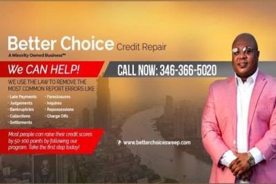 Better choice credit repair