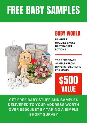 Get Free Baby Samples Delivered To Your Address