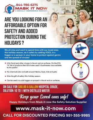 Safety Options for the Holidays