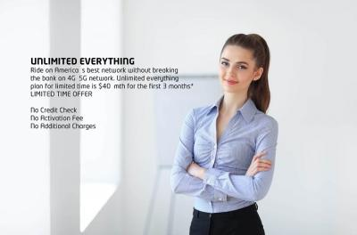UNLIMITED EVERYTHING PLAN (Including Data)