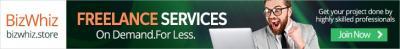 BizWhiz- Freelance Services Marketplace