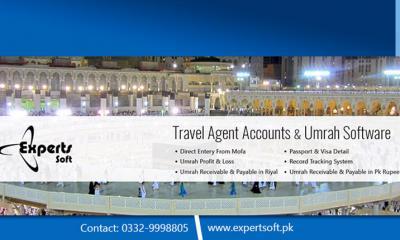 Travel Agency Umrah Website | Software | eTravel CRM - Expert Soft