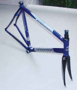 58cm Cannondale CAAD 8 Frame and Fork *with extras* - $350 (Playa del Rey)